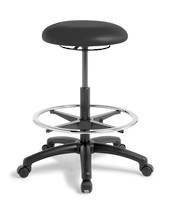 Button Stool - Hi Lift with Footring